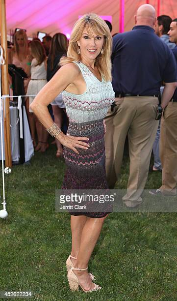 Ramona Singer attends the Social Life Magazine's St Barths Gala on July 19 2014 in Bridgehampton New York