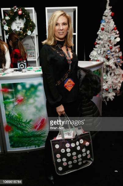 Ramona Singer attends the Z100's Jingle Ball 2018 Gift Lounge at Madison Square Garden on December 7 2018 in New York City