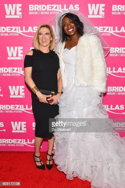 Ramona Singer attends WE tv Launches Bridezillas Museum Of Natural Hysteria on February 22 2018 in New York City