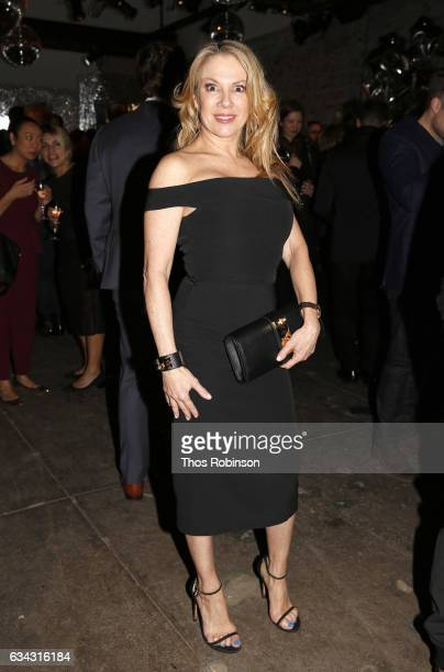 Ramona Singer of Real Housewives of NY attends E ELLE IMG celebration to kickoff NYFW The Shows on February 8 2017 in New York City