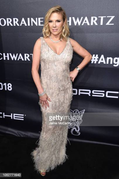 Ramona Singer Real Housewife of New York City attends the 2018 Angel Ball hosted by Gabrielle's Angel Foundation at Cipriani Wall Street on October...