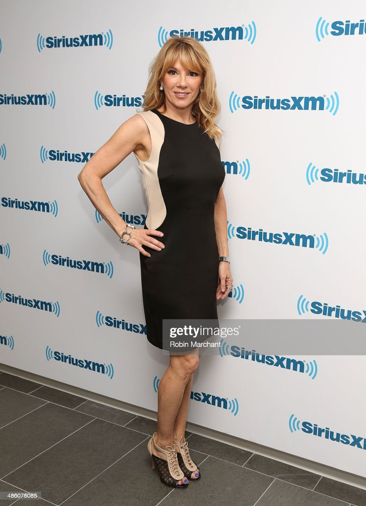 Ramona Singer visits at SiriusXM Studios on April 22, 2014 in New York City.
