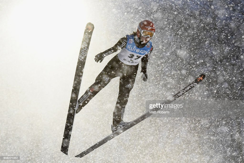 FIS Ski Jumping Women's World Cup Zao - Day 4