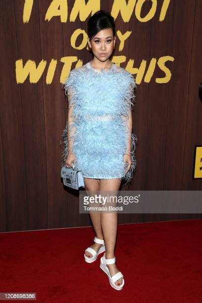 Ramona Young attends Netflix's I Am Not Okay With This Photocall at The London West Hollywood on February 25 2020 in West Hollywood California