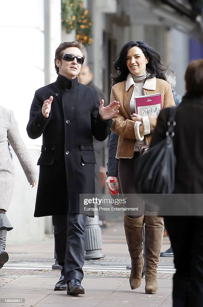 Celebrity Sighting In Madrid - December 14, 2011