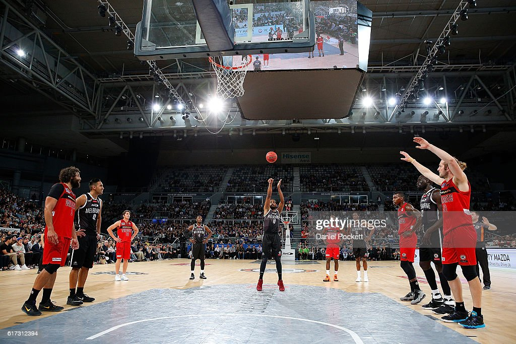 NBL Rd 3 - Melbourne v Perth : News Photo