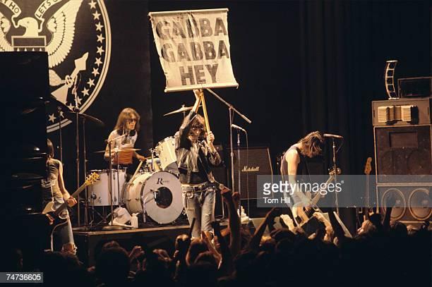 Ramones at the Atlanta Municipal Auditorium in Atlanta, Georgia