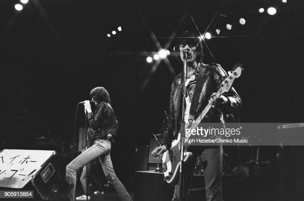 Ramones live at SEIBU Theater June 28 Tokyo Japan Joey Ramone Dee Dee Ramone