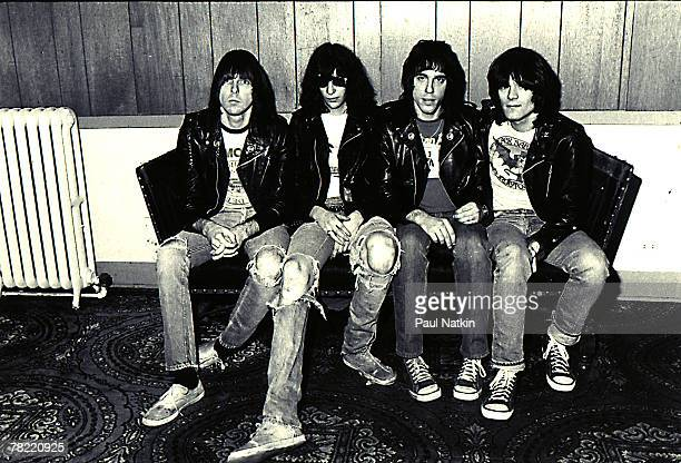 Ramones on 10/22/77 in Chicago, Il.
