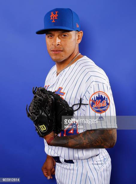 Ramos of the New York Mets poses for a photo during photo days at First Data Field on February 21 2018 in Port St Lucie Florida