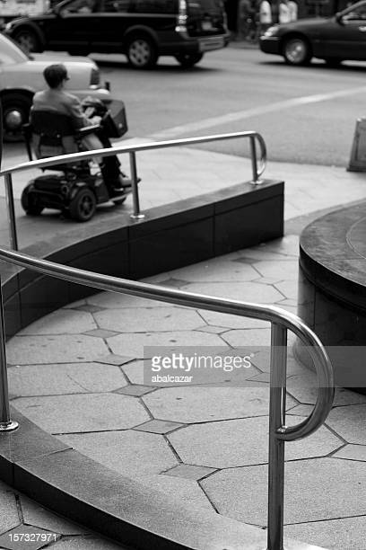 ramp and crossing - disabled access stock photos and pictures