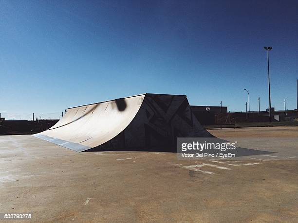 Ramp In Skatepark