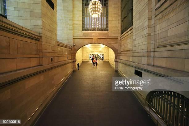 Ramp inside Grand Central Terminal in Midtown Manhattan