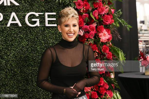 Rampage X Creative Director and TV personality Savannah Chrisley makes a personal appearance at Belk at Cool Springs Galleria Mall on November 05...