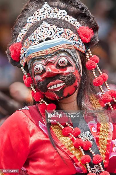rampak kelana mask dancer - tee reel bildbanksfoton och bilder