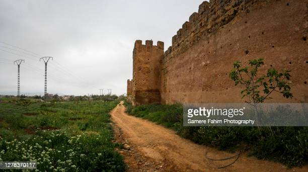 rampart of the old mansourah city - 2016 stock pictures, royalty-free photos & images