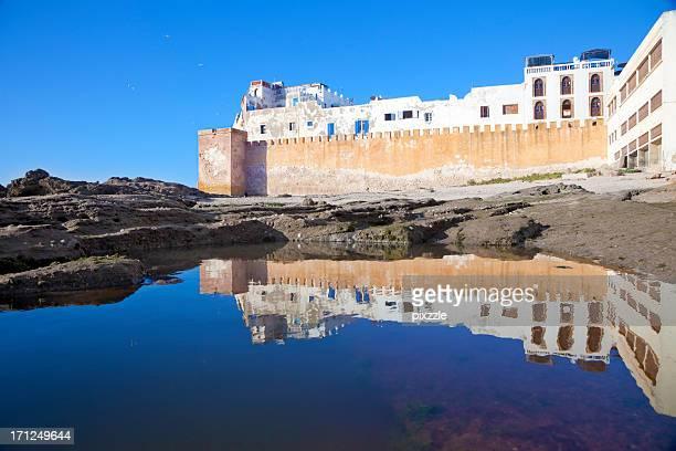 Rampart réflexion, Essaouira, Maroc