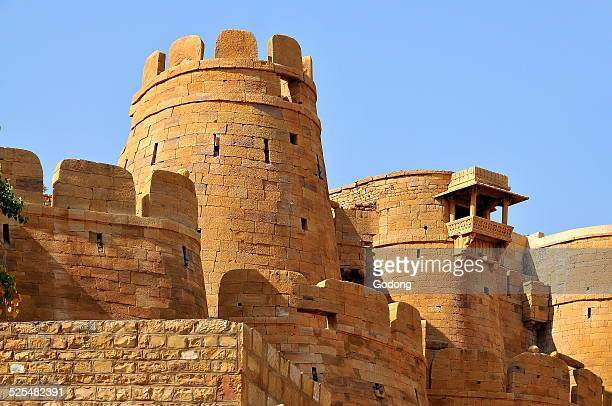 Ramparts towers and fortifications of Jaisalmer