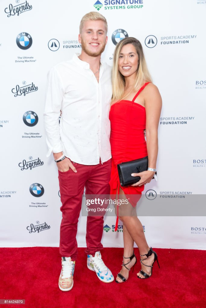 La Rams Wide Receiver Cooper Kupp And Wife Anna Croskrey Attend The News Photo Getty Images