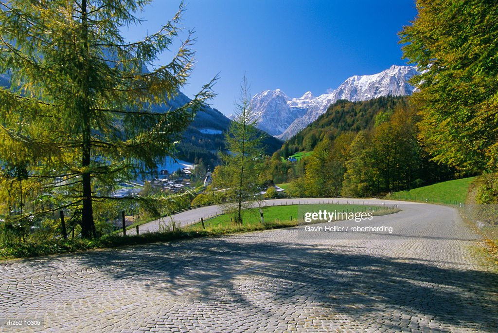 Ramsau, Bavaria, Germany, Europe : Foto de stock