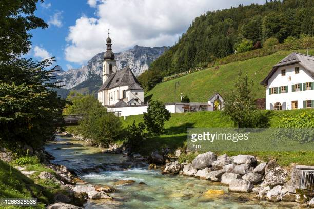 "ramsau ""malerwinkel""(bavaria/ germany) - berchtesgaden stock pictures, royalty-free photos & images"