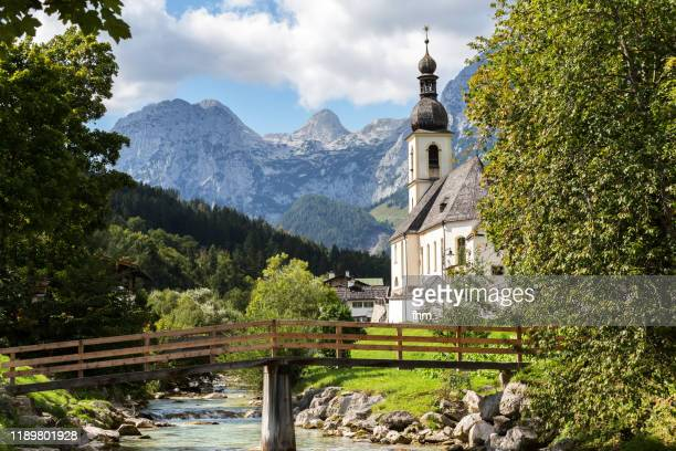 ramsau (berchtesgadener land/ bavaria/ germany) - oberbayern stock-fotos und bilder