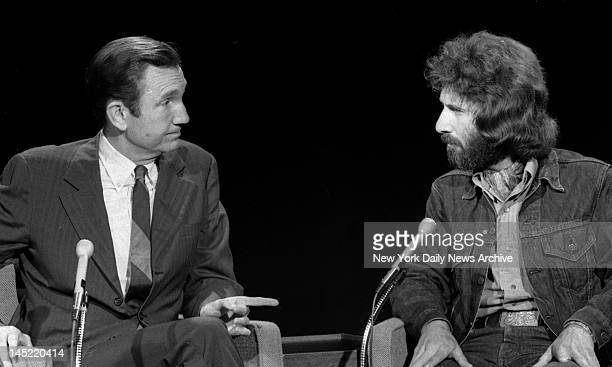 Ramsay Clark and Frank Serpico get together Knapp Commission Frank Castoral/NY Daily News via Getty Images