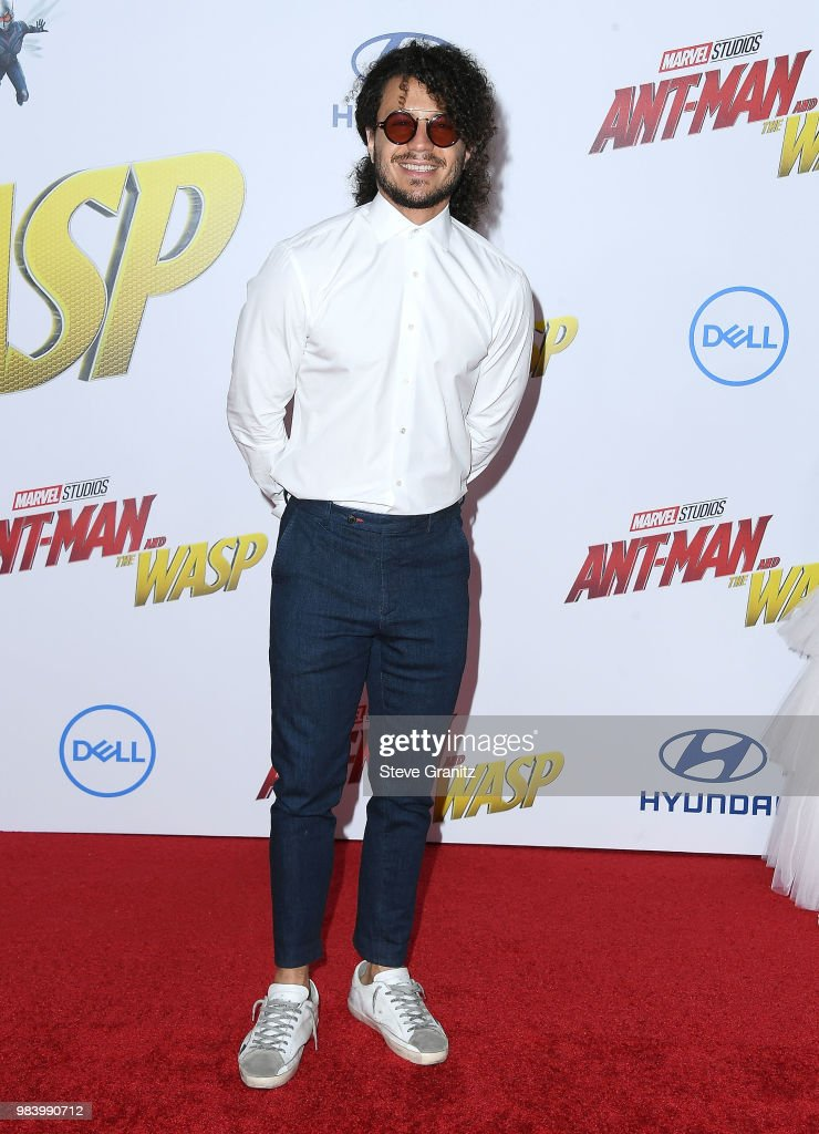 Ramses Jimenez arrives at the Premiere Of Disney And Marvel's 'Ant-Man And The Wasp' on June 25, 2018 in Hollywood, California.