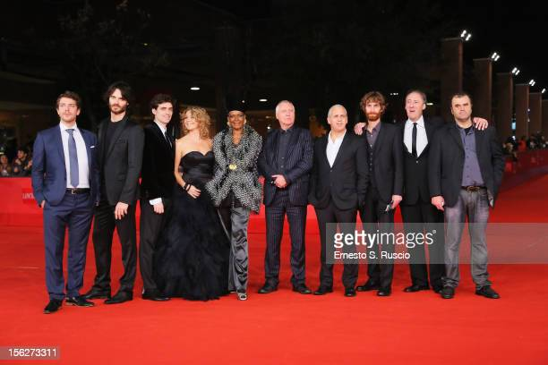 Ramsey Nasr Giulio Berruti Flavio Parenti Anne Louise Hassing director Peter Greenaway and guests attends the 'Goltzius And The Pelican Company'...