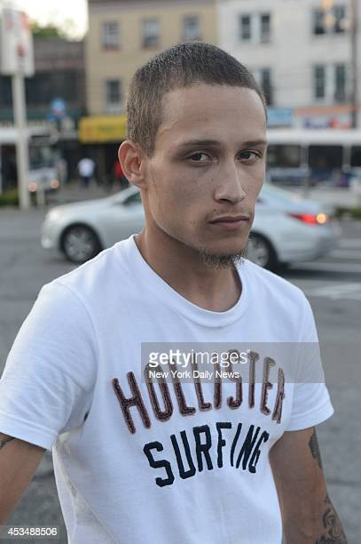 Ramsey Orta who shoot video of Eric Garner who died while being arrested by police in Staten Island on Thursday July 17 2014