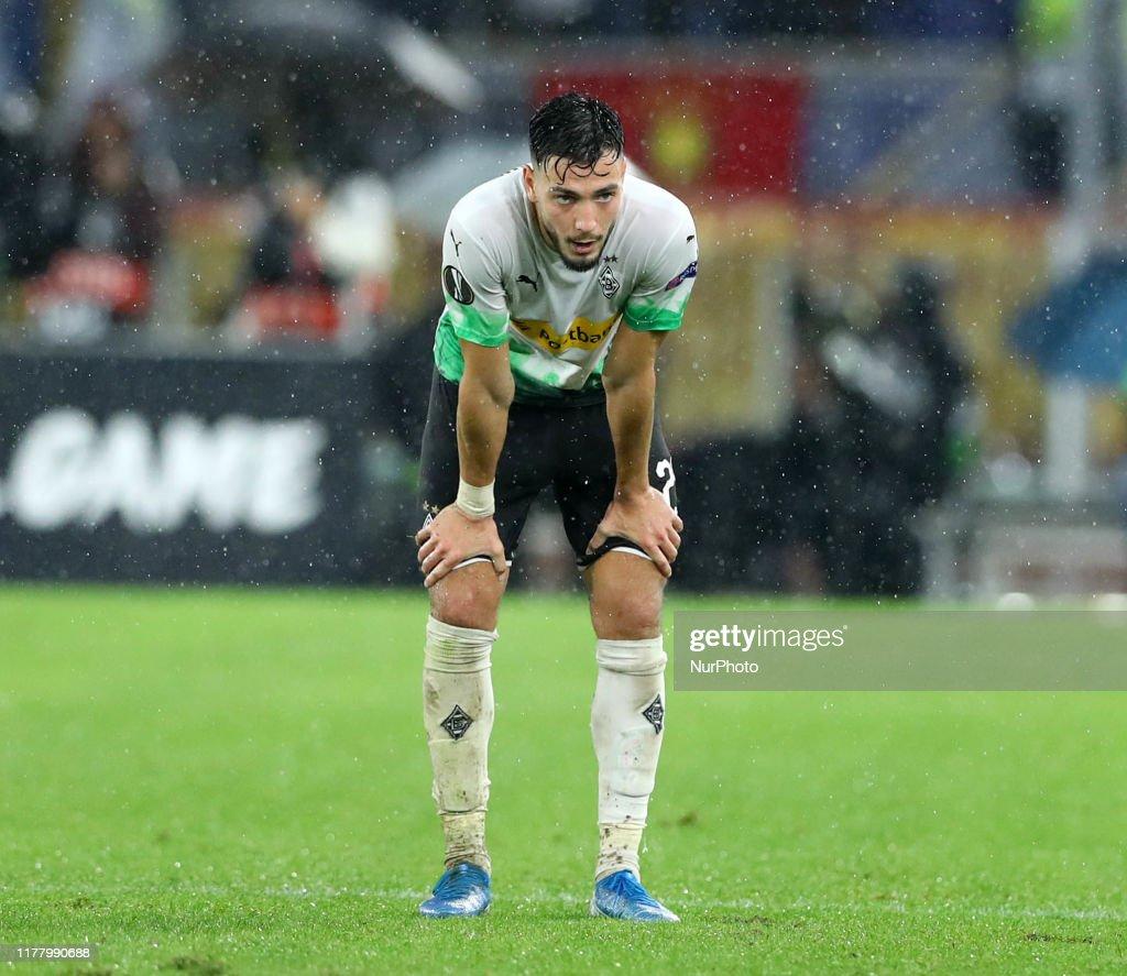 Ramy Bensebaini Of Monchengladbach During The Uefa Europa League
