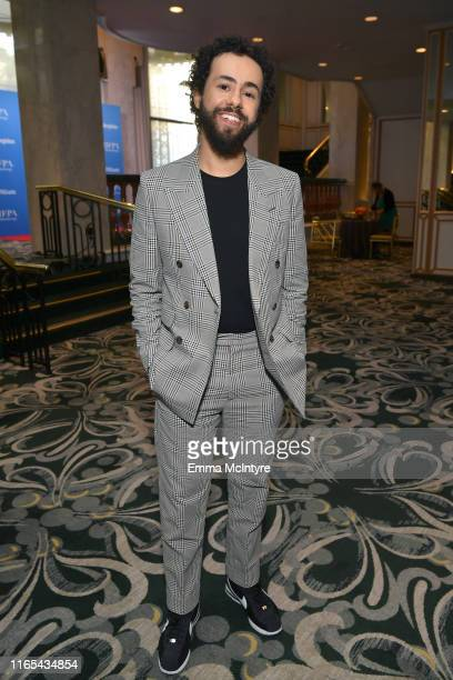 Ramy Youssef attends Hollywood Foreign Press Association's Annual Grants Banquet at Regent Beverly Wilshire Hotel on July 31 2019 in Beverly Hills...