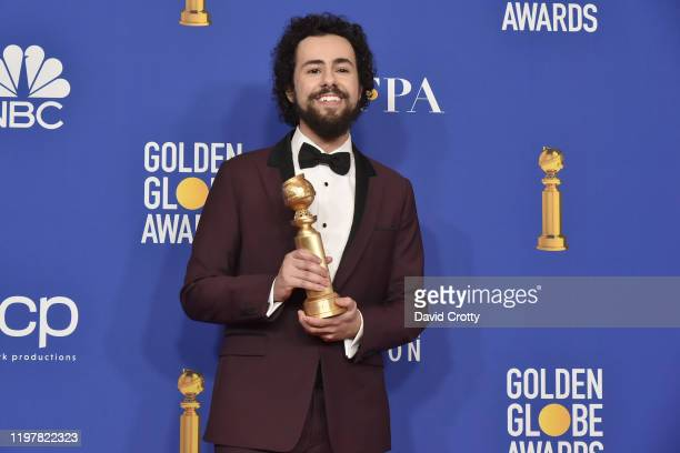 Ramy Youssef attends The 77th Golden Globes Awards Press Room at The Beverly Hilton Hotel on January 05 2020 in Beverly Hills California