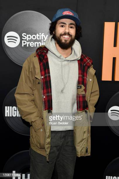 Ramy Youssef attends the High Fidelity New York Premiere at The Metrograph on February 13 2020 in New York City
