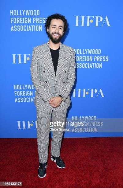 Ramy Youssef attends the Hollywood Foreign Press Association's Annual Grants Banquet at Regent Beverly Wilshire Hotel on July 31 2019 in Beverly...