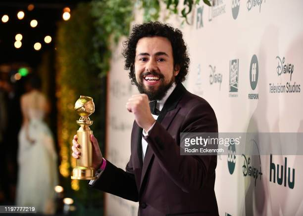 Ramy Youssef attends The Walt Disney Company 2020 Golden Globe Awards PostShow Celebration at The Beverly Hilton Hotel on January 05 2020 in Beverly...