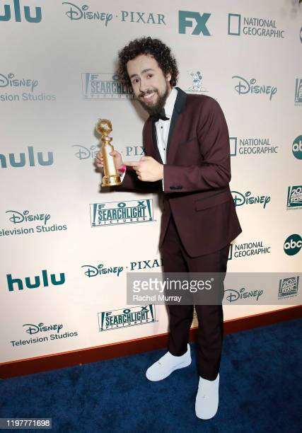 Ramy Youssef Golden Globe winner for Best Performance by an Actor in a Television Series Musical or Comedy attends the 2020 Walt Disney Company...
