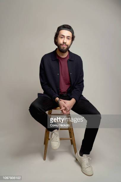 Ramy Youssef of Hulu's Ramy poses for a portrait during the 2019 Winter TCA at The Langham Huntington Pasadena on February 11 2019 in Pasadena...