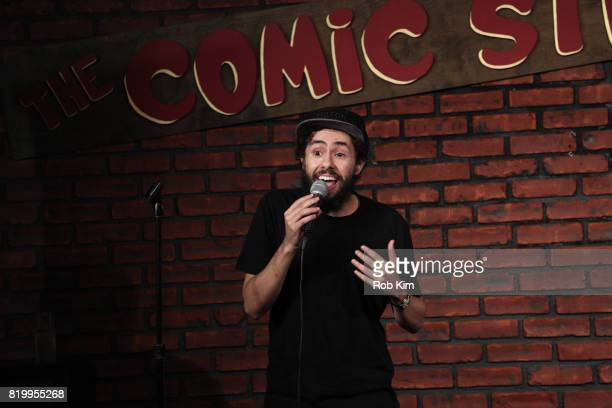 Ramy Youssef performs during Muslim Funny Fest at Comic Strip Live on July 20 2017 in New York City