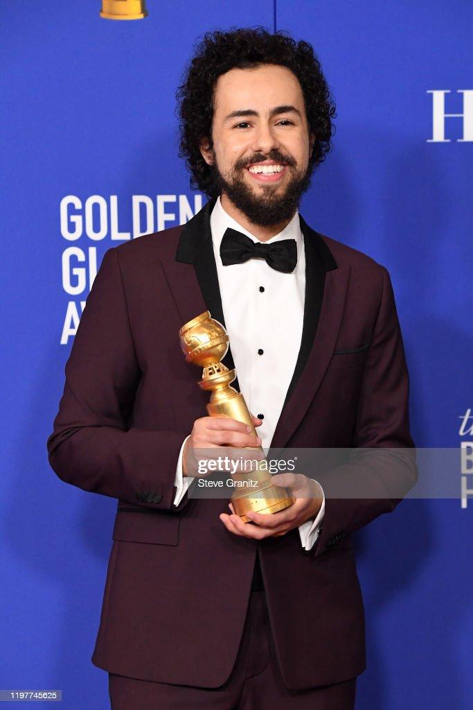 77th Annual Golden Globe Awards - Press Room : News Photo
