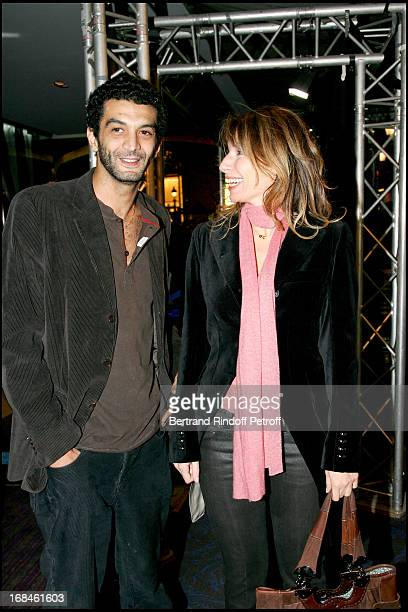 Ramzy and Anne Depetrini Premiere of the movie Tell No One at the Ugc Normandie