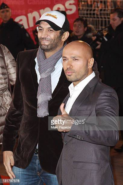 Ramzy Bedia and Eric Judor attend the NRJ Music Awards 2011 on January 22 2011 in Cannes France