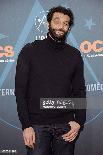 Ramzy Bedia attends the 18th L'Alpe D'Huez International Comedy Film Festival on January 14 2016 in Alpe d'Huez France