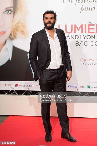 Ramzy Bedia attends the Opening Ceremony of the 8th Film Festival Lumiere on October 8 2016 in Lyon France