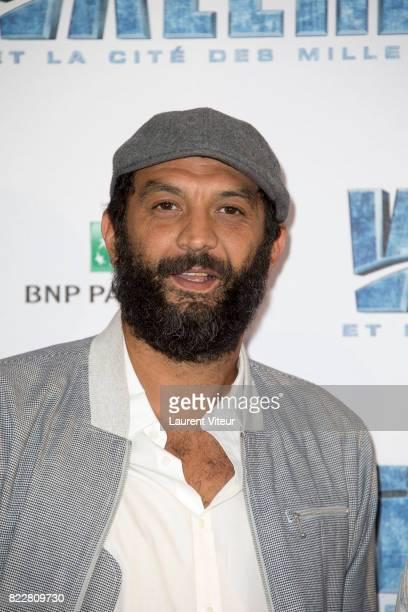 Ramzy Bedia attends 'Valerian et la Cite desMille Planetes' Paris Premiere at La Cite Du Cinema on July 25 2017 in SaintDenis France
