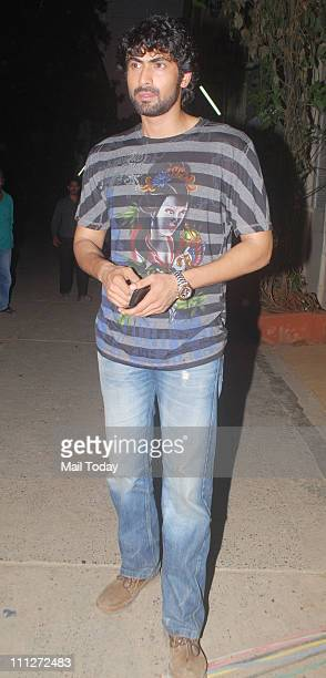 Rana Daggubati at an event to promote his upcoming film Dum Maaro Dum