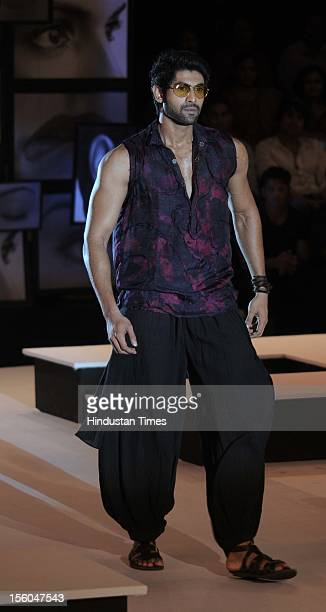 Rana Daggubati during Blenders Pride Fashion Tour 2012 Falguni Shen Collection at Grand Hyatt on November 3 2012 in Mumbai India