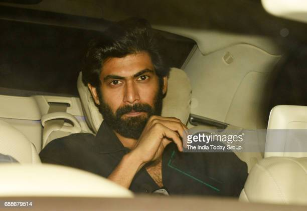 Rana Daggubati during Karan Johars 45th Birthday celebration party in Mumbai