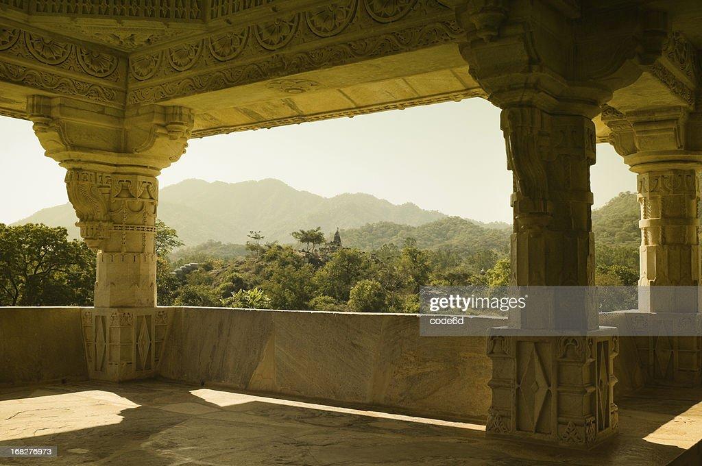 Ranakpur Hindu temples : Stock Photo