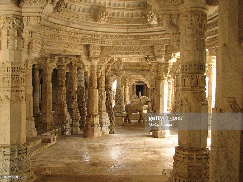 Ranakpur Jain Temple : Stock Photo